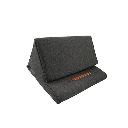 Soporte de lectura triangular plegable para la almohada de ...