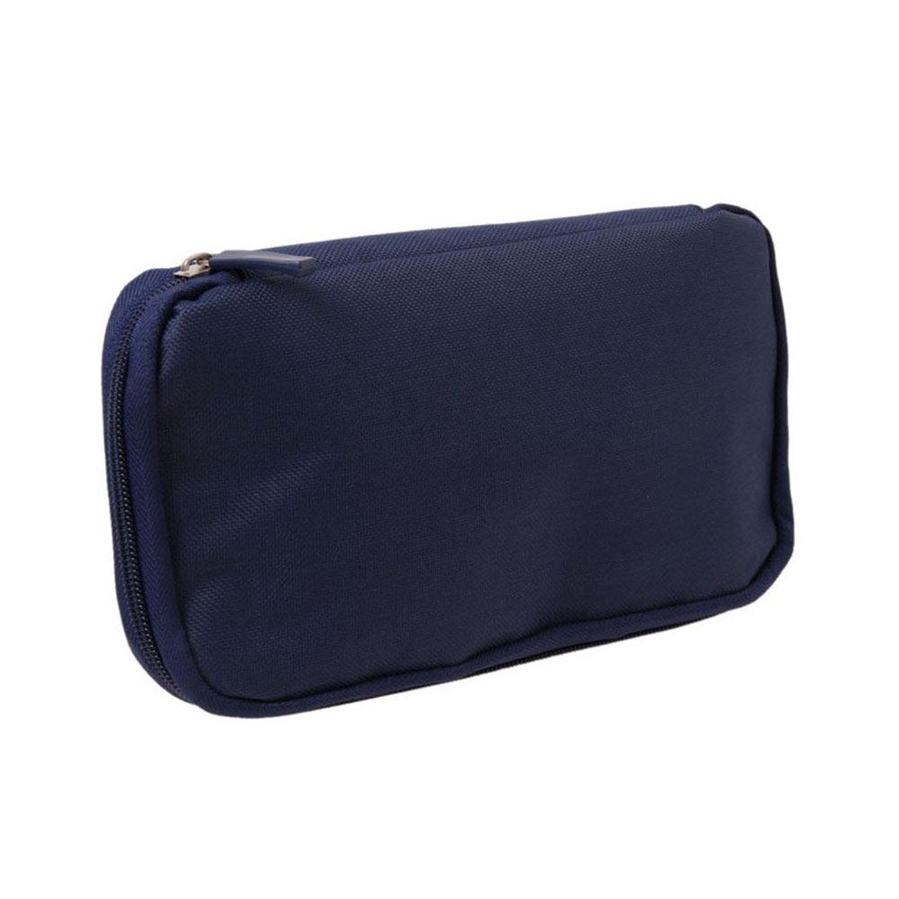 3713cddfcb85 AStorePlus Simple Travel Wallet, RFID Blocking, Passport Holder, Passport  Pouch, Document Organizer Case, Aircraft Ticket Travel-bag, Navy