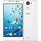 Kata C2 - 5.5-inch Super HD IPS Quad Core International Unlocked Smartphone Android 6.0 - Super Slim HD 1.3 GHz Dual Sim Card GSM 13MP Camera (White)