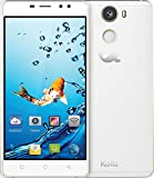 Smartphones Best Deals - Kata C2 - 5.5-inch Super HD IPS Quad Core International Unlocked Smartphone Android 6.0 - Super Slim HD 1.3 GHz Dual Sim Card GSM 13MP Camera (White)