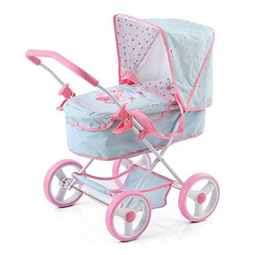 rincess Mimi Doll Stroller Light Blue ()