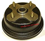 QUALITY Right Rear Brake Drum Hub for Yamaha YFM 350 Big Bear 400 Kodiak (replaces OE 4GB-2531E-00-00)