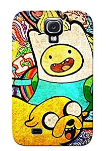 Ellent Design Adventure Time Case Cover For Galaxy S4 For New Year's Day's Gift