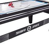 """Triumph 72"""" 4 in 1 Multi-Game Swivel Table"""