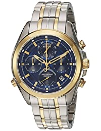 Bulova Mens 98B276 Dress Blue Dial Watch