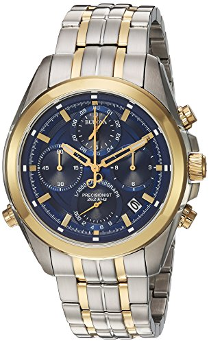 Bulova-Mens-Quartz-Stainless-Steel-Casual-WatchMulti-Color-Model-98B276