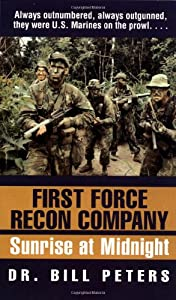 first force recon company sunrise at book by bill peters