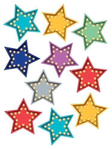 (Teacher Created Resources Marquee Stars Accents (5870))
