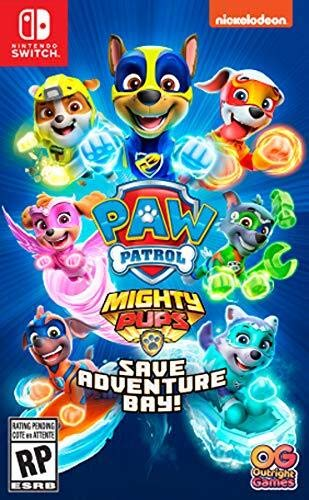Paw Patrol Mighty Pups Save Adventure Bay - Nintendo Switch