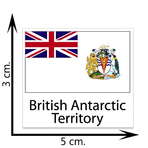 British Antarctic Territory Flag Temporary Tattoos Sticker Body Tattoo