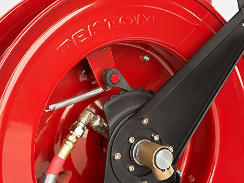 TEKTON 50-Foot by 3/8-Inch I.D. Dual Arm Auto Rewind Air Hose Reel (250 PSI) | 46875 by TEKTON (Image #12)