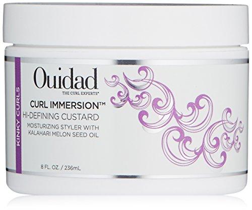 OUIDAD Curl Immersion Hi-Defining Custard, 8 Fl Oz