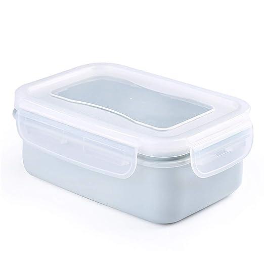 Contenedores de comida preparada, 1 compartimento con tapas, para ...