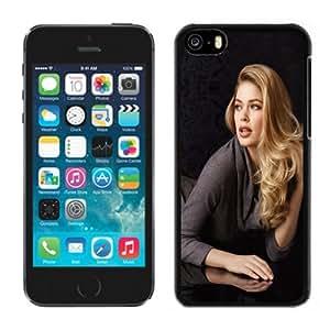 Beautiful Custom Designed Cover Case For iPhone 5C With Doutzen Kroes Blonde Phone Case WANGJING JINDA