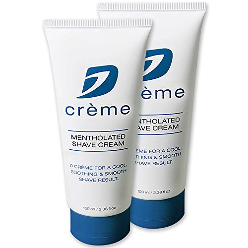 Dorco D Crème Mentholated Shaving Cream - For a Smooth and Soothing Shave (2 - Eshave 5 Blades