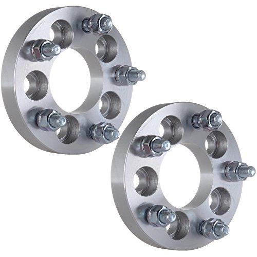 ECCPP Wheel Spacers Adapters 2PCS 5lug 1