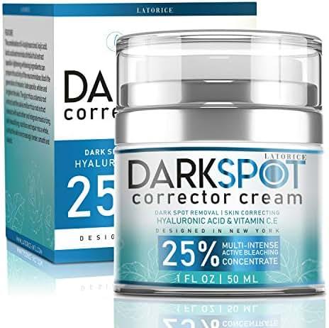 Latorice Dark Spot Corrector Cream For Face and Body-effective Ingredients With 4-Butylresorcinol,alpha-arbutin, Butyrospermum Parkii Extract,Jojoba seed oil,Hyaluronic acid. Lightening Cream for Dark Spots Corrector