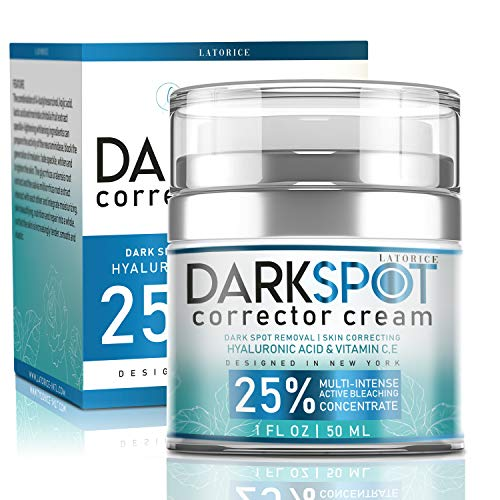 Latorice Dark Spot Corrector Cream For Face and Body-effective Ingredients With 4-Butylresorcinol,alpha-arbutin, Butyrospermum Parkii Extract,Jojoba seed oil,Hyaluronic acid. Lightening Cream for Dark Spots Corrector