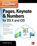 Maximize your productivity--the Apple way! Get the most out of the iWork suite of apps on a Mac, an iOS device, and in iCloud. How to Do Everything: Pages, Keynote & Numbers for OS X and iOS shows you how to create great-looking documents, persua...