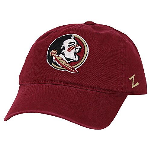 (ZHATS NCAA Collegiate Slouch Fit Adjustable Baseball Hat (Florida State Seminoles))