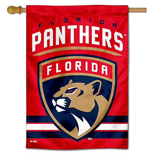WinCraft Florida Panthers Double Sided Banner House Flag
