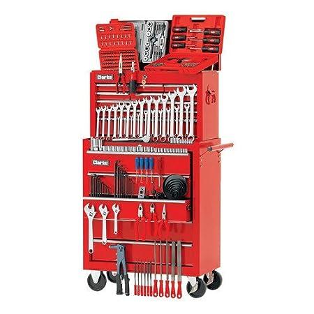 Clarke Tool Box Chest Cabinet Plus 350 Tools Amazon Co Uk Diy