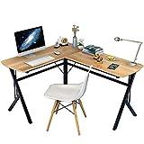 Soges L Shaped Desk Computer Desk Multifunctional