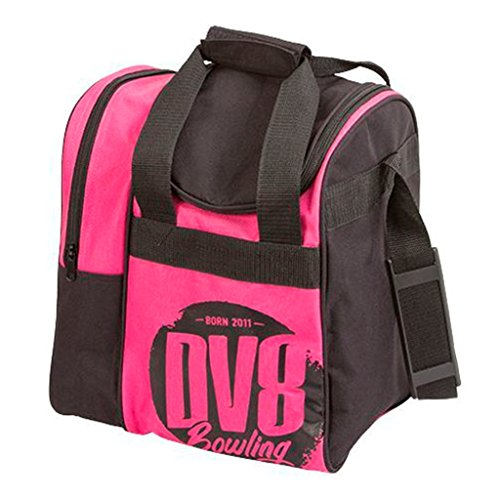 DV8 Tactic Single Tote Bowling Bag, Pink For Sale