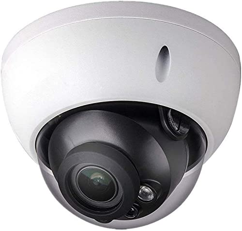 6MP PoE IP Security Camera 6 Megapixels Super HD 3072×2048 Outdoor Surveillance Camera Dome IPC-HDBW4631R-S 2.8mm Lens with SD Card Slot IK10 IP67 Weatherproof