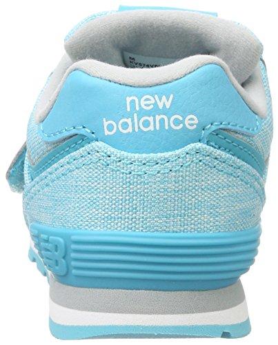 Bébé Mixte 574v1 white Balance Baskets New teal Multicolore wqPWItWg5