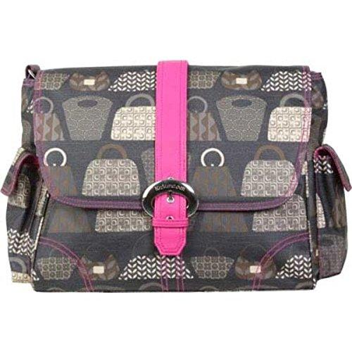 [カレンコム] レディース ハンドバッグ Matte Coated Buckle Bag [並行輸入品] B07DHZG74P   One-Size
