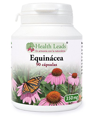 Equinácea 350 mg x 90 Cápsulas (Estearato de magnesio)
