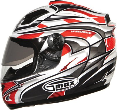 G-Max LED Top Vent for GM68 Helmet - Red Crusader 999952
