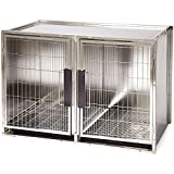 dog modular cage - ProSelect Stainless Steel Modular Kennel, Large
