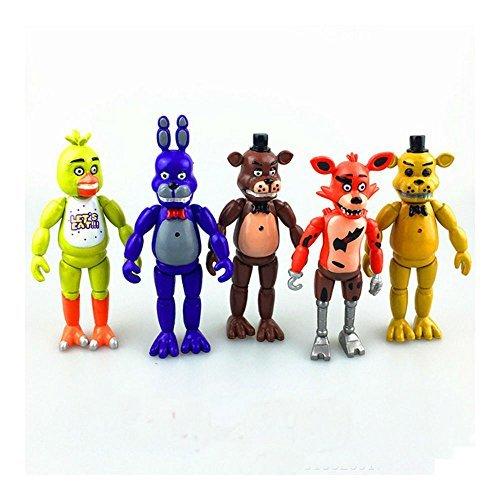 - HOT US 5 PCS Five Nights at Freddy's 6