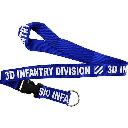(Mitchell-Proffitt Co. 3rd Infantry Division Lanyard)