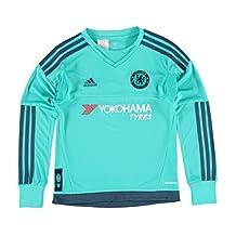 2015-2016 Chelsea Adidas Home Goalkeeper Shirt (Kids)