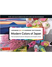 Japanese Color Harmony Dictionary: Modern Colors of Japan: The Complete Guide for Designers and Graphic Artists (Over 3,300 Color Combinations and Patterns with CMYK and RGB References)