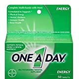One-A-Day Energy Multivitamin, 50-Count – Pack of 2