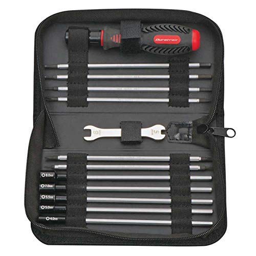 - Duratrax 19-in-1 Tool Set with Pouch for Traxxas Vehicles