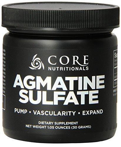 Complément alimentaire de produits nutritionnels Agmatine Sulfate, 30 grammes de base