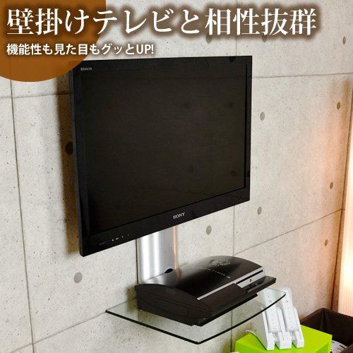 テレビを壁に取り付ける事によりお部屋の雰囲気が変わりすっきりしたようにみえますね。