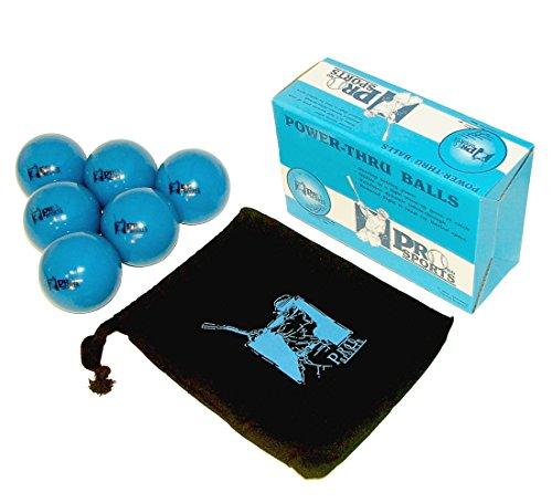 Power-Thru Weighted Baseballs 6 Pack | Softball and Baseball Training Equipment for Batting Practice, Pitching Training, and Weighted Ball Exercise by Probo Sports by Probo Sports