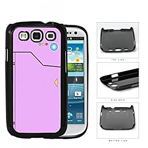 Pokedex Pocket Monsters Pink Hard Plastic Snap On Cell Phone Case Samsung Galaxy S3 SIII I9300