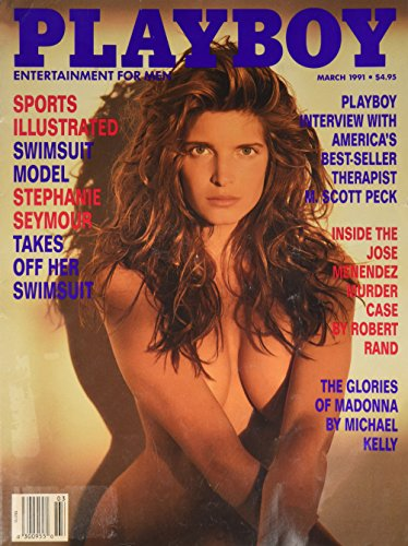 Playboy March 1991 Sport Illustrated Swimsuit Model Stephanie Seymour