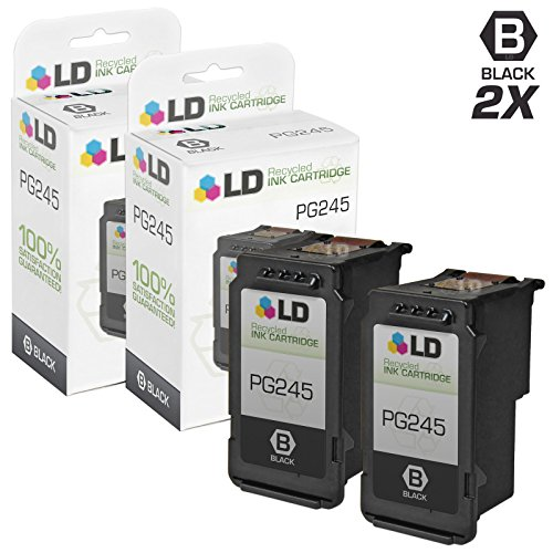 ld-c-remanufactured-canon-pg-245-8279b001aa-set-of-2-black-inkjet-cartridges-for-canon-pixma-ip2820-