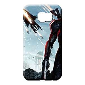 samsung galaxy s6 phone carrying covers PC Nice Durable phone Cases mass effect 3 female shepard