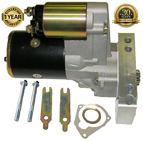 SBC Chevy Mini Starter High Torque Black 3HP 153 168 Tooth 350 400 Small ()