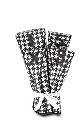 All For Color Houndstooth Golf Club Covers, Outdoor Stuffs