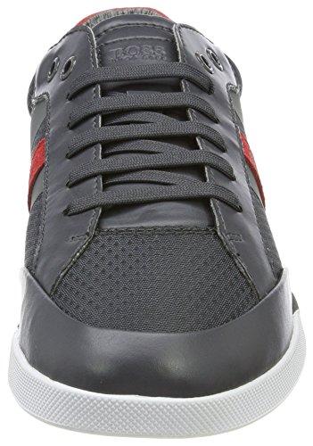 Tenn Grey Shuttle Homme Tech Sneakers Gris Basses BOSS Dark ZBx5q8x